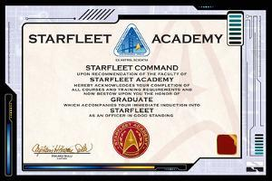 Star Trek Certificate