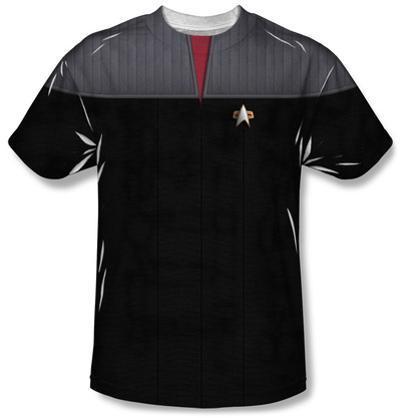Star Trek - Command Uniform Costume Tee
