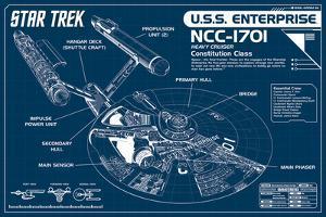 Star Trek Enterprise Blueprint