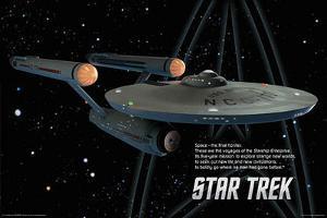 Star Trek - Enterprise Ship - Space the Final Frontier