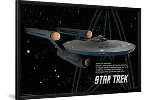 Star Trek - Enterprise Ship - Space the Final Frontier