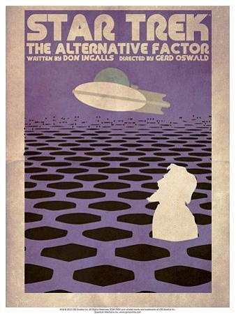 Star Trek Episode 27: The Alternative Factor TV Poster