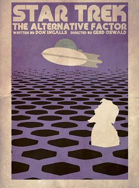 Star Trek Episode 27: The Alternative Factor TV Poster