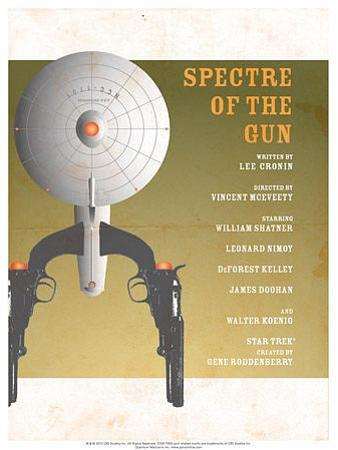 Star Trek Episode 61: Spectre of a Gun TV Poster