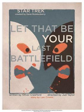 Star Trek Episode 70: Let That Be Your Last Battlefield TV Poster