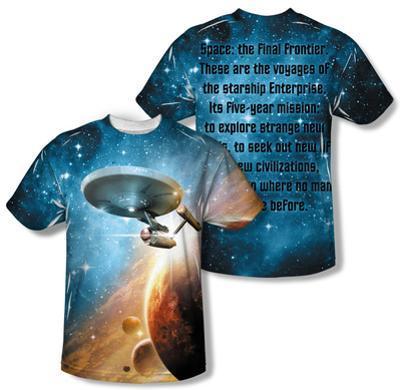 Star Trek - Final Frontier (Front/Back Print)