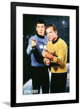 Star Trek - Kirk / Spock--Framed Poster