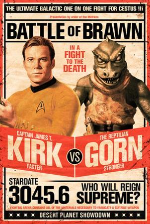 Star Trek- Kirk vs Gorn Stardate 3045.6