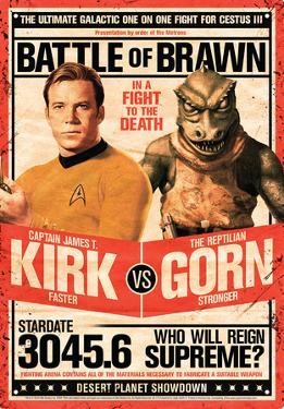 Star Trek - Kirk vs Gorn