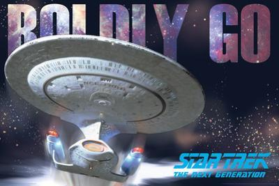 Star Trek Next Gen Boldly Go Ship