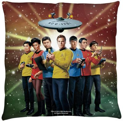 Star Trek - Original Crew Throw Pillow