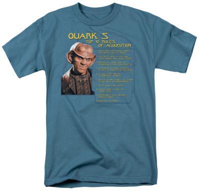 Star Trek-Quark's Rules