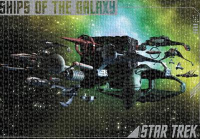 Star Trek - Ships Of The Galaxy 1500 Piece Puzzle