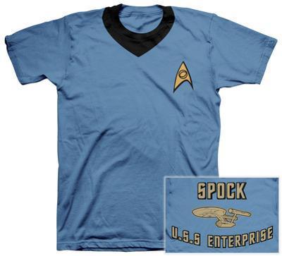 Star Trek - Spock Uniform Costume Tee