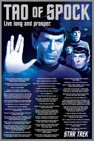 Star Trek- Tao Of Spock