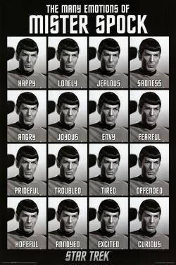 Star Trek - The Many Emotions of Mister Spock