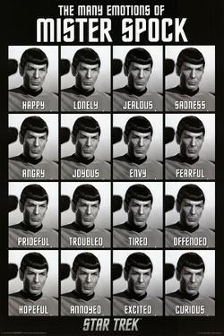 Star Trek - The Many Emotions of Mister Spock