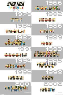 Star Trek - Trexels Timeline