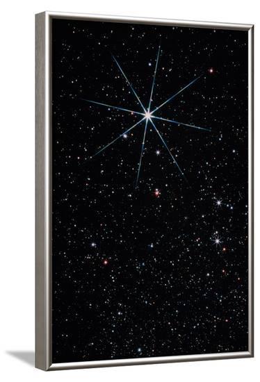 Star Vega In the Constellation of Lyra-John Sanford-Framed Photographic Print