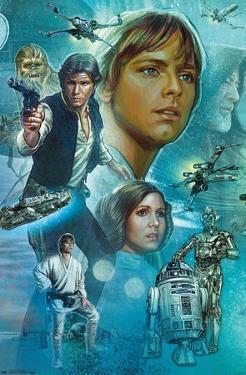 Star Wars: A New Hope - Celebration Mural