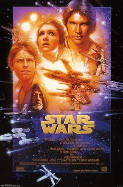Star Wars: A New Hope - One Sheet