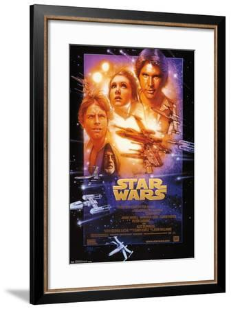 Star Wars: A New Hope - One Sheet--Framed Poster
