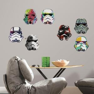 Star Wars Artistic Trooper Peel and Stick Wall Decals