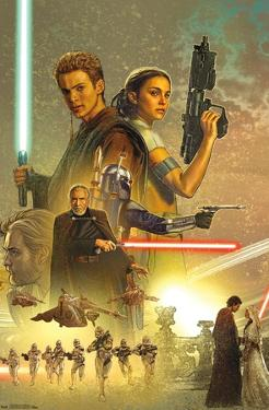 Star Wars: Attack Of The Clones - Celebration Mural