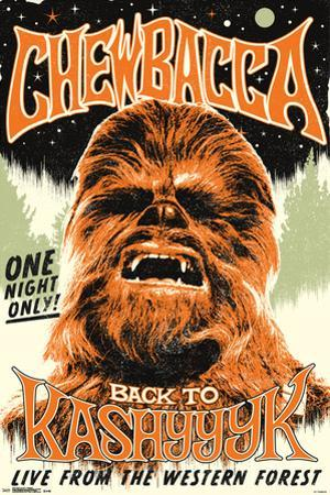 Star Wars- Chewbacca Back On Kashyyyk