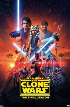 Star Wars: Clone Wars - Season 7 Key Art