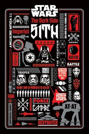 Star Wars - Dark Side Icongraphic