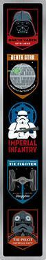 Star Wars Dark Side Tin Sign with Knock Out