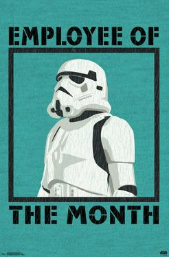 STAR WARS - EMPLOYEE OF THE MONTH