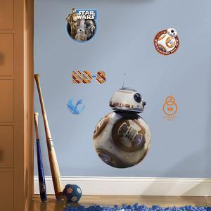 Star Wars: Ep VII BB-8 Peel & Stick Giant Wall Decal