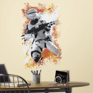 Star Wars: Ep VII Flametrooper Peel & Stick Wall Graphic