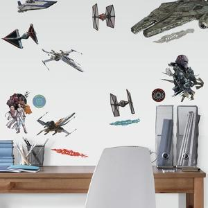 STAR WARS EPISODE IX GALACTIC SHIPS PEEL AND STICK WALL DECALS