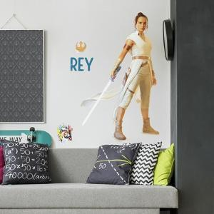 STAR WARS EPISODE IX REY PEEL AND STICK GIANT WALL DECALS