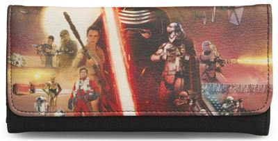 Star Wars Episode VII Movie Poster Tri-Fold Wallet