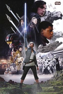 Star Wars - Episode VIII- The Last Jedi- Group