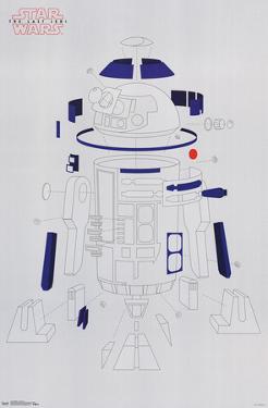 Star Wars - Episode VIII- The Last Jedi R2 Blowout