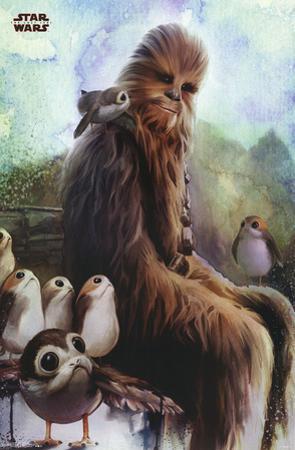 Star Wars - Episode VIII- The Last Jedi- Wookiee & Porg
