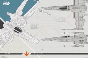Star Wars - Episode VIII- The Last Jedi - X-Wing