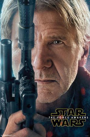 Star Wars Force Awakens- Han Solo Portrait
