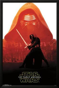 Star Wars Force Awakens - Kylo Ren Badge