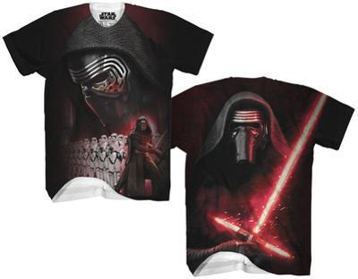 Star Wars Force Awakens- Kylo Ren Sublimated Tee