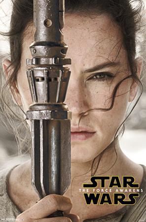 Star Wars Force Awakens- Rey Portrait