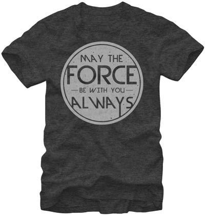 Star Wars- Force Quote Round Logo