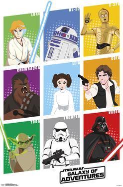 Star Wars - Galaxy Grid