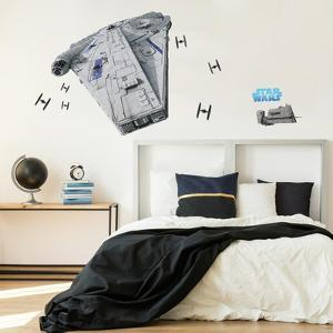 Star Wars Han Solo Millennium Falcon Giant Wall Decal