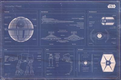 Star Wars - Imperial Fleet blueprint